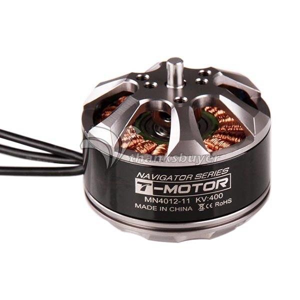 1 x T-Motor MN4012 340kv/400KV480kv 4-8S Brushless Motor for FPV Drone Multicopter t motor brushless motor u10 plus kv80 drone brushless motor