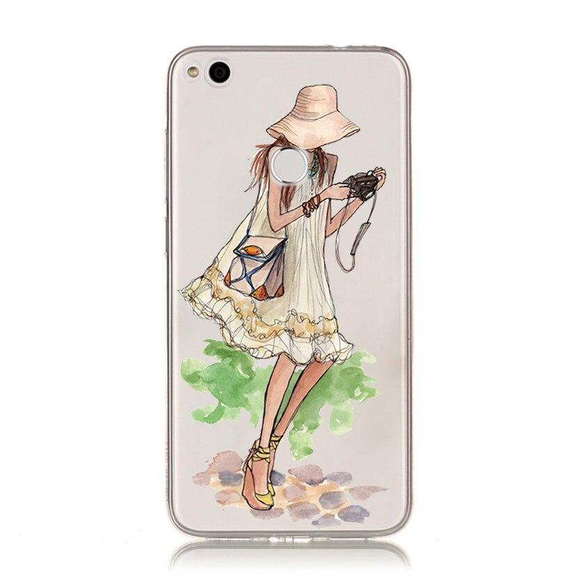 Мягкий силиконовый чехол для телефона Довольно леди ТПУ силиконовый чехол для телефона для huawei P20 P20Lite P10 P8 P9 Lite 2017 P Smart