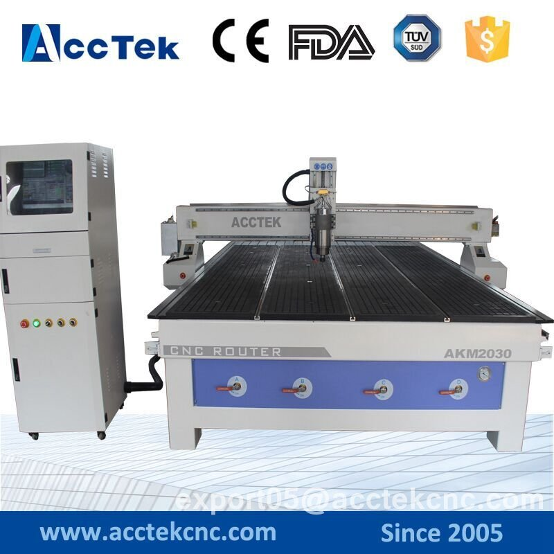 AKM2030 China Supply Big Size Hot Sale Stone Cnc Router For Woodworking