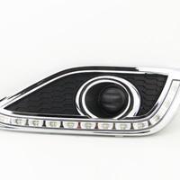 High Quality LED Daytime Running Turn Singal Lights DRL For Honda CR V CRV 2012 2014