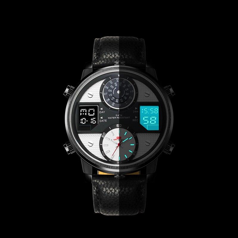 2019 спортивные часы мужские часы Топ бренд Роскошные Кварцевые часы мужские модные повседневные светящиеся водонепроницаемые часы Relogio ... - 2