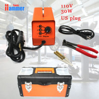 PDR 110v US Hot Stapler Machine Repair Kit Plastic Welder Stapler For Car