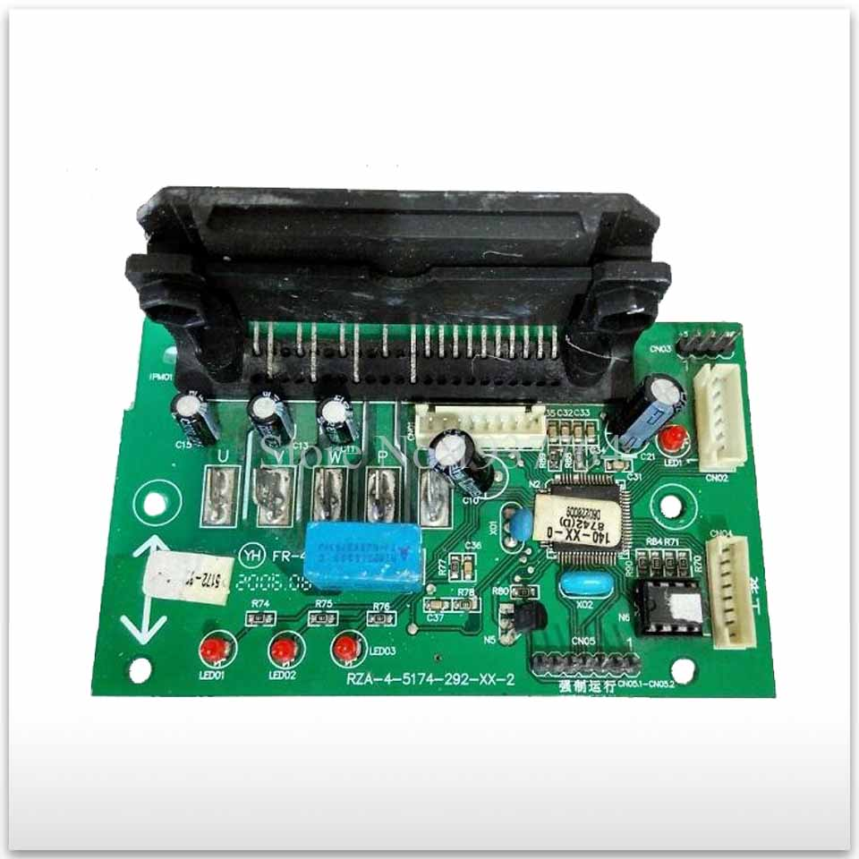 for air conditioning computer board RZA-4-5174-292-XX-0 /1/4/3 RZA-4-5174-292-XX-4 KFR-35GW/77ZBP used module board indoor air conditioning parts mpu kfr 35gw dy t1 computer board kfr 35gw dy t used disassemble