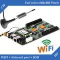 HD-C30 WI-FI + USB + 2 Порт Ethernet (может использоваться в качестве отправки карты) Асинхронный Полноцветный Видео СВЕТОДИОДНЫЙ дисплей Управления WI-FI Карты
