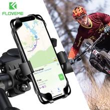 FLOVEME Bicycle Phone Holder 360 Degree Universal For Bike Motorcycle Handlebar Mobile Smartphone Support