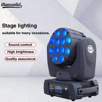 DMX512 mini moving head light 7X12W led moving head DJ disco beam wash light