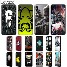 Lavaza Rainbow 6 Bao Vây Silicone Dẻo cho iPhone 6 6S 7 8 Plus 5 5S SE X XS 11 Pro MAX XR(China)