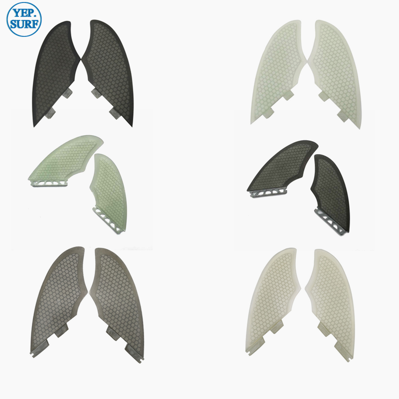 Surfing Surfboard FCSII/FCS/Future  Fins Future Keel fin FCS2 twin fin set 2 pcs per set-in Surfing from Sports & Entertainment