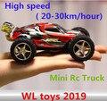 Игрушки WL 2019 Высокая скорость Мини Rc Truck (20-30 км/час) 4CH Супер автомобили Удивительно Дистанционного Управления Автомобиля Лучший Подарок бесплатная доставка