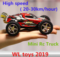 Brinquedos WL 2019 de Alta velocidade Mini Truck Rc (20-30 km/hour) Carro Do Controle de Rádio 4CH Super carros Incrível Melhor Presente frete grátis