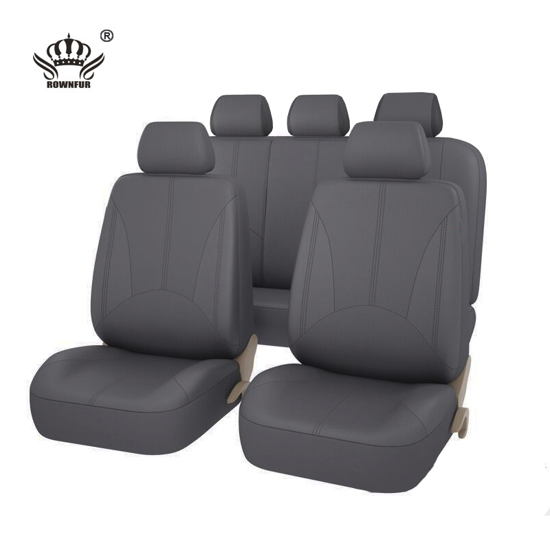 New Luxury PU Leather Auto Universal Car Seat Covers  Automotive Seat Covers for toyota lada kalina granta priora renault logan-in Automobiles Seat Covers from Automobiles & Motorcycles    3