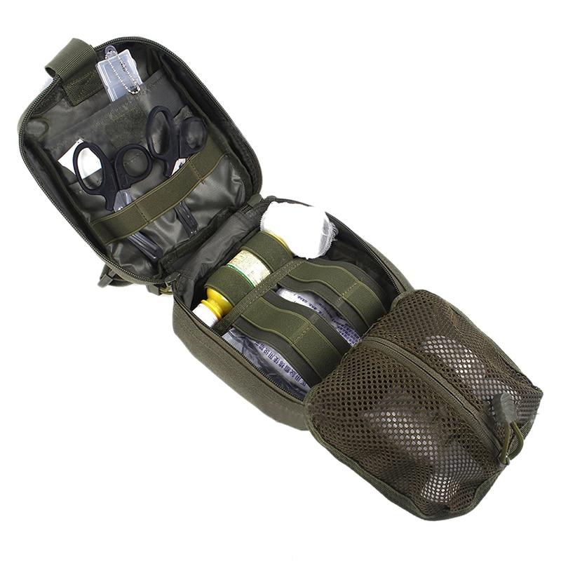 Prix pour Nouvelle Tactique Sac de Premiers secours de Sécurité Camping Médical Militaire Utility Pouch Paquet de Sauvetage Pour Voyage Chasse Randonnée Clambing Sacs
