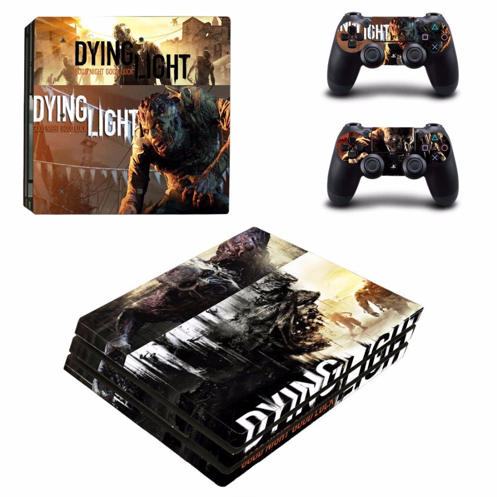 Game Dying Light PS4 Pro Skin Sticker For PS4 PlayStation Console and Controllers PS4 Pro Skins Stickers Decal Vinyl