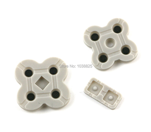 Image 2 - 50sets/lot High Quality Conductive Rubber Pads Replacement for DS Lite for NDSL Game Console