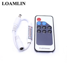 Single Color Led Controller With Remote Dimmer DC5-24V For 5050 3528 2835  Strip