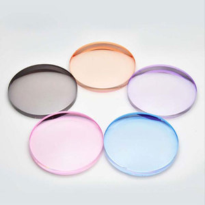 Image 4 - 1,61 Tinted Asphärische Verschreibungspflichtige Linse brille Optische Linsen für Sonnenbrille Linsen Single Vision Sonnenbrillen Objektiv