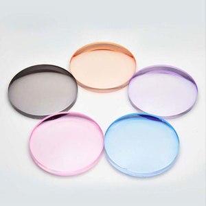 Image 4 - 1.61 Tinted Aspheric Prescription Lens Eye glasses Optical Lenses for Sunglasses Lenses Single Vision Sunwear Lens