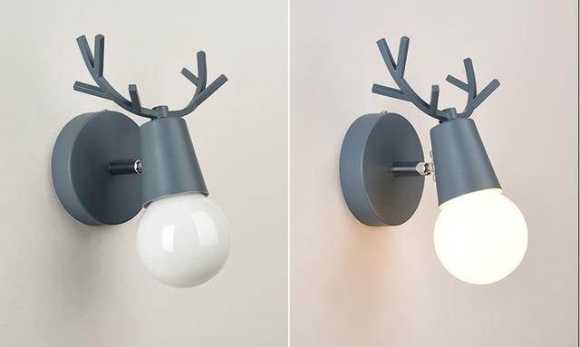 Nordic Deer Wall Lamps