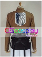New Arrival Attack on Titan Shingeki no Kyojin Cosplay Costume Eren Jaeger Blue Wing Whole Set Anime Cosplay Christmas Party