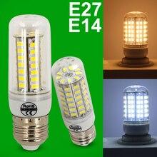 E27 E14 Led Bulbs Light Lamps SMD5730 220V 7W 12W 15W 18W 20W LED Corn Led Bulb Christmas lampada led Chandelier Candle Light