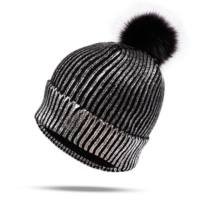 Hats/Caps Winter Shiny...