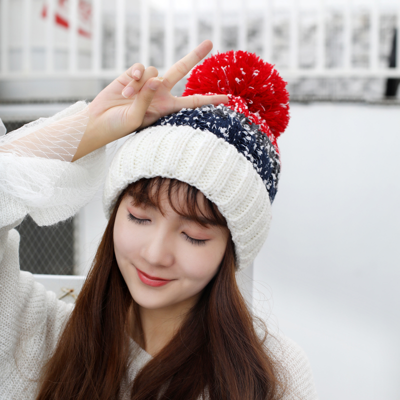 5f8a037230755 oZyc 2018 new Women s Winter Slouchy Knitted Hat Fleece Lined Cabl...