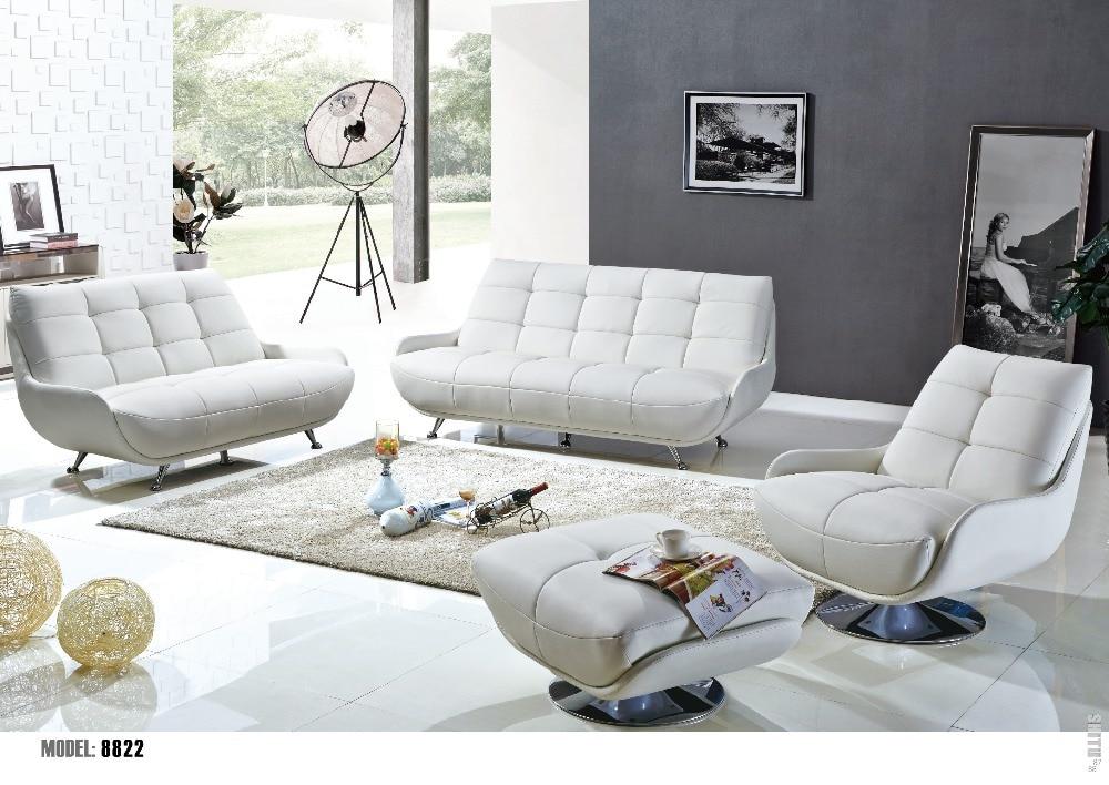 Italy luxury living room leather sofa set moq 1set in - Precios de sofas de piel ...