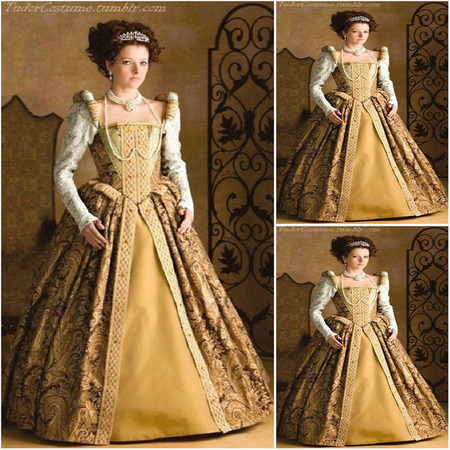 Customer Made 18 Century Vintage Costumes Renaissance Dresses Steampunk Dress Gothic Cosplay