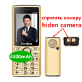 Power bank 4300 mAh Mobiele Telefoon 2.4 Inch dual sim mobiel Quick Dial cellulaire Zaklamp MP3 FM Radio D1000 russische taal