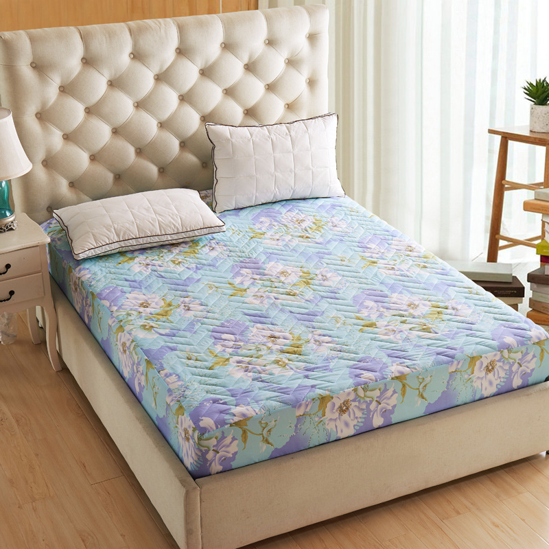 2016 New Thick Quilted Mattress Cover Ed Bedspread Bedding Fruit Green One Sheet Set The Cases In Sets From Home Garden On
