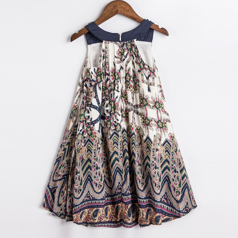 92118a4bf40c Childdkivy Girls Summer Dress 2018 Children Bohemian Style Print Dress Baby  Girls Princess Dress Kids Beach Dresses For Girls-in Dresses from Mother    Kids ...