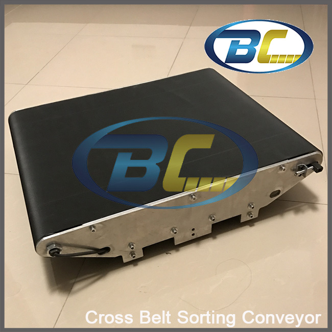 Postal Sorter Conveyor for Express / Courier / Logistic Company / CEP, Cycling Economical Sorting Table, Cross Belt Sorter logistic management