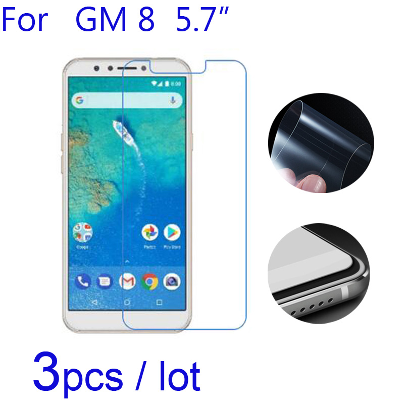3pcs/lot Soft Matte/Ultra-Clear/Nano Explosion-Proof Protective Films for google General Mobile GM8 GM 8 Phone Screen Protectors(China)