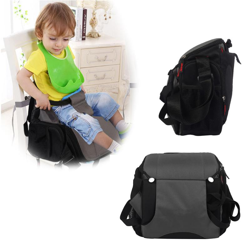 The Stroller Accessories Multifunction Baby Feeding Chair Toddlers Cushion Bag Bottle Nappy Storage ...