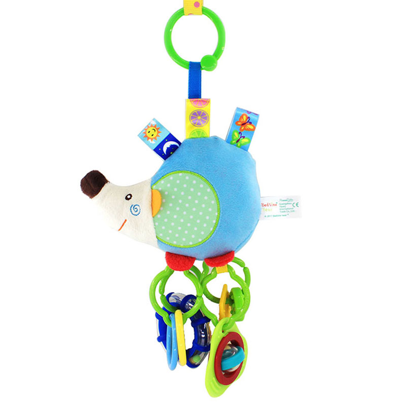 Pack of 3 Cute Hand Shaking Jingle Bell for Kids Baby Toddler Toys Gift