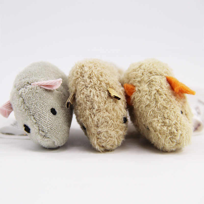 New Cat Toy Mouse Long Tail Fur Mice Toys Cat Products 3pcs/set Mouse For Cat Toys Interactive Cat Plush Pet Supplies