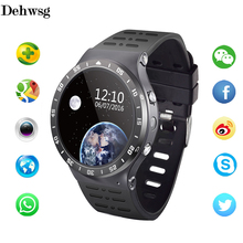 S99A Smart Watch Android 5.1 Quad Core 8GB ROM Heart Rate watch phone with SIM GPS Bluetooth Smartwatch For ios android VS DZ09