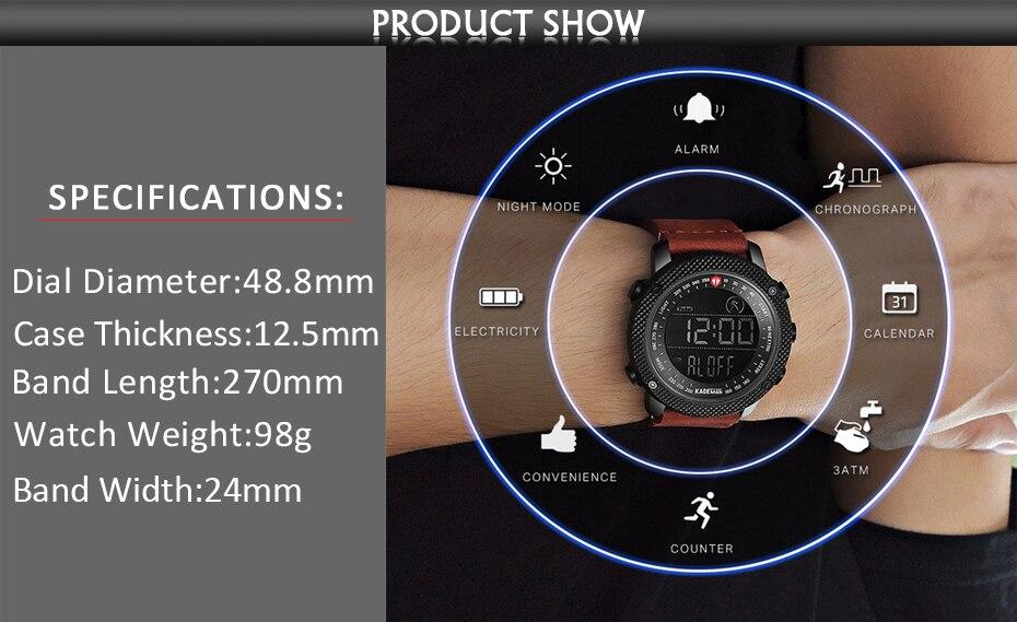 Luxury Brand Mens Sports Watches  (2)