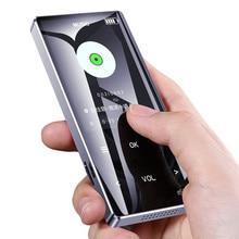 Yescool MP3 плеер с динамиком сенсорные клавиши без потерь HiFi спортивный Музыкальный плеер hifi fm радио мини USB портативный тонкий walkman 8 16 Гб