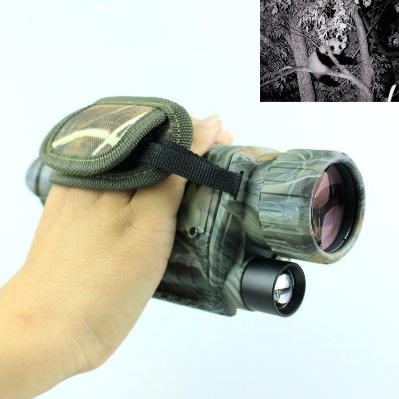 5X40 CMOS IR digital night vision camera video recorder 200m full dark night vision monocular Night vision device NV022 5x40 bak4 prism infrared night vision monocular camera