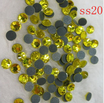 wholesale price DMC hot fix stone (4.6-4.8mm) .big bag  packing!100gross 14400pcs!Crystal Hot fix rhinestone SS20.Free Shipping! ca7d1692b861