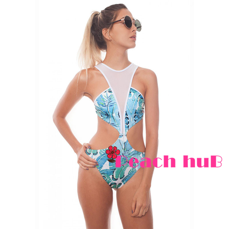 5d9aa693415 Detail Feedback Questions about Whole Woman Swimsuit Sexy One Piece Swimsuit  Transparent Swimsuit Cut Out Monokini White Mesh See Through Bathing Suits  on ...