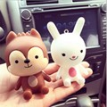 cartoon car Perfume Vinyl PVC Air Freshener girl car styling