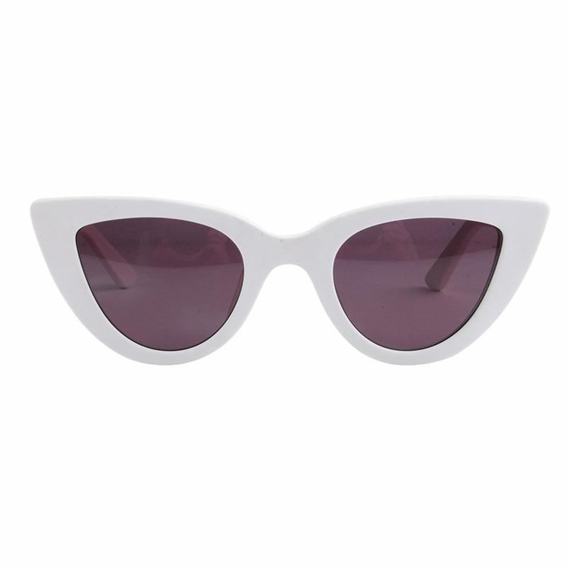 LONSY Weiß Sexy CAT EYE Sonnenbrille Frauen Polarisierte Hohe - Bekleidungszubehör - Foto 5