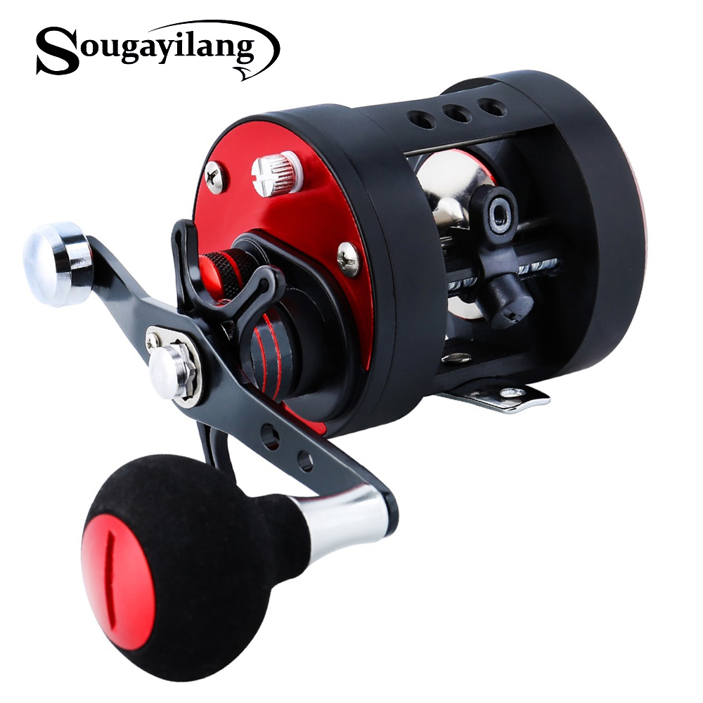 Sougayilang Trolling Fishing Reel Right Left Hander Fishing Spinning Reel Saltwater Trolling Reels Casting Fishing Max