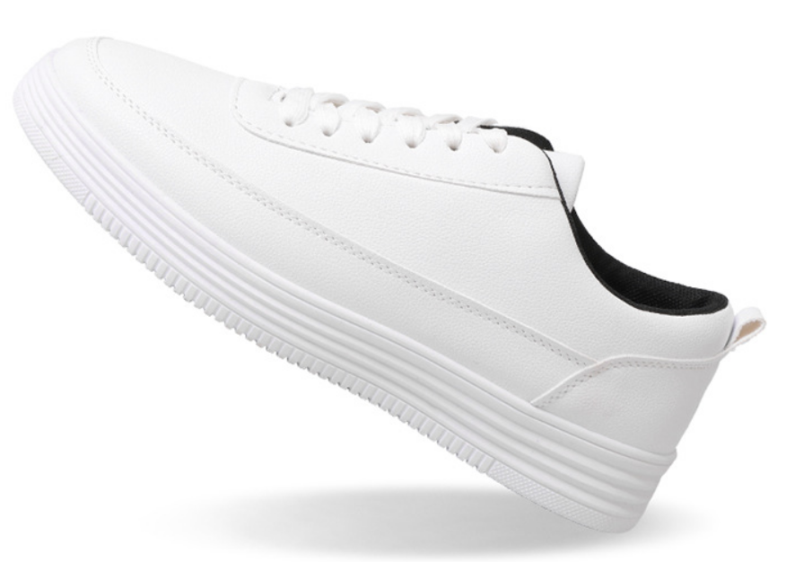 New sports shoes small white shoes male trend shoes male wild students(China)