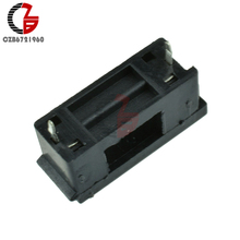 50PCS/LOT 5*20mm With Cover Fuseholders BLX-A type Fuse Holder For 5*20 Fuse