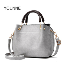 Luggage Bags - Handbags - YOUNNE Brand Luxury Women Handbag Pu Leather Fashion Flap Female Casual Small Bag Solid Pleated Shoulder Bags Tote 2018 Women