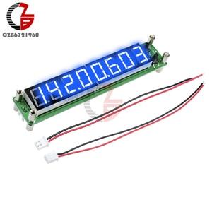 Image 4 - Contador de frecuencia de señal, medidor de temperatura de tubo Digital de 8 dígitos, RF 0,1 a 60MHz 20MHz a 2400MHZ 2,4 GHz rojo verde azul