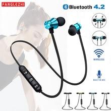 XT11 Wireless Headphones Bluetooth Earphones Magnetic Sport Waterproof Bass Headset Handsfree With Mic for IPhone Xiaomi Samsung